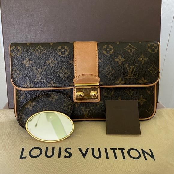 Authentic💯 Louis Vuitton Sophia Coppola Clutch